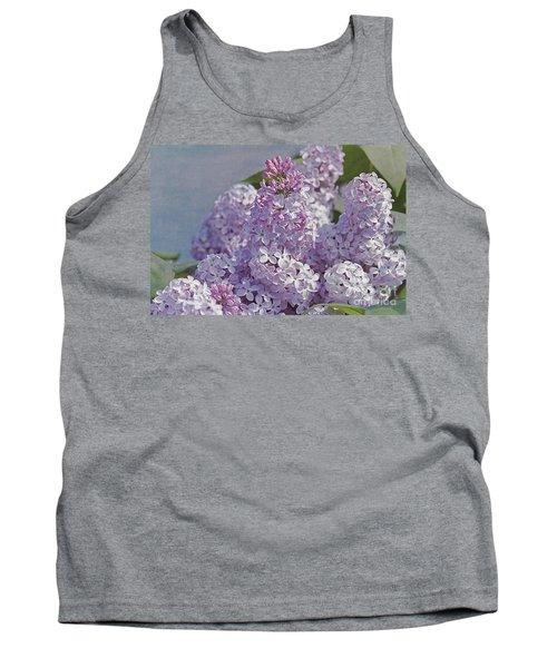 Springtime Lilacs Tank Top