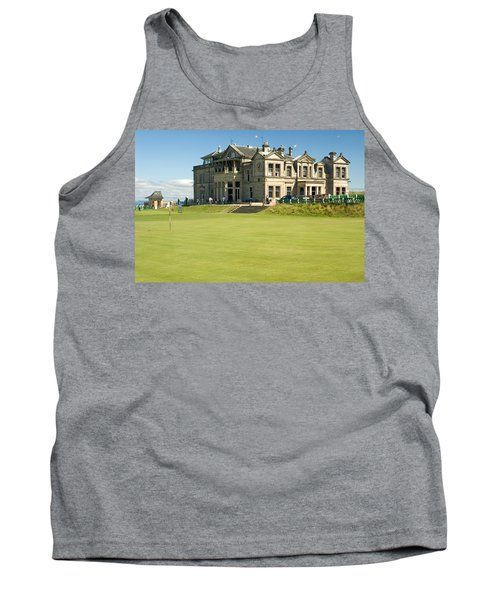 St Andrews Final Green And Clubhouse  Tank Top