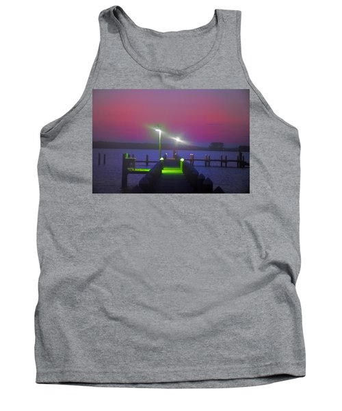 St. Georges Island Dock - Just Before Sunrise Tank Top