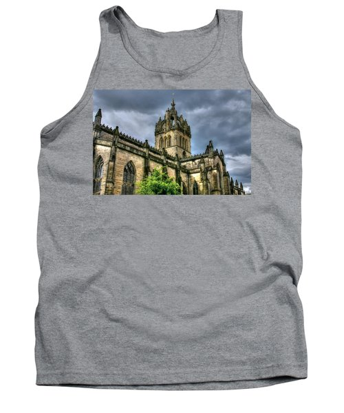St Giles And Tree Tank Top