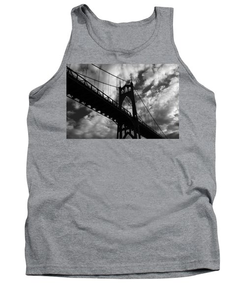 St Johns Bridge Tank Top by Wes and Dotty Weber