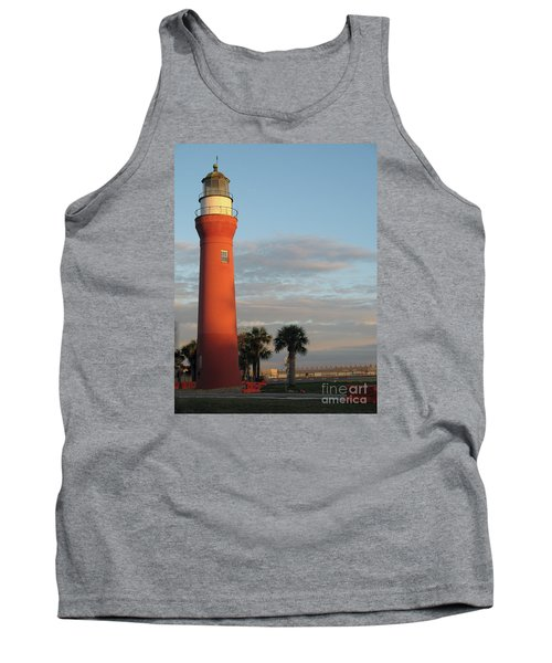St. Johns River Lighthouse II Tank Top by Christiane Schulze Art And Photography