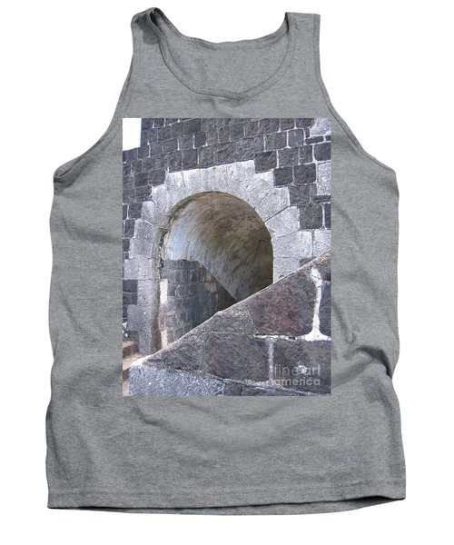 Tank Top featuring the photograph St. Kitts  - Brimstone Hill Fortress by HEVi FineArt