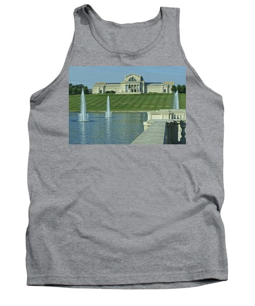 St Louis Art Museum And Grand Basin Tank Top