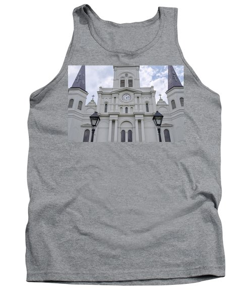 St. Louis Cathedral Close-up Tank Top