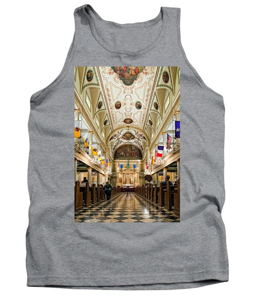 St. Louis Cathedral Tank Top by Steve Harrington