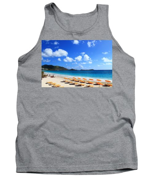 St. Maarten Calm Sea Tank Top