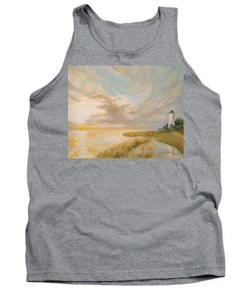 St Marks Lighthouse Tank Top by Alan Lakin