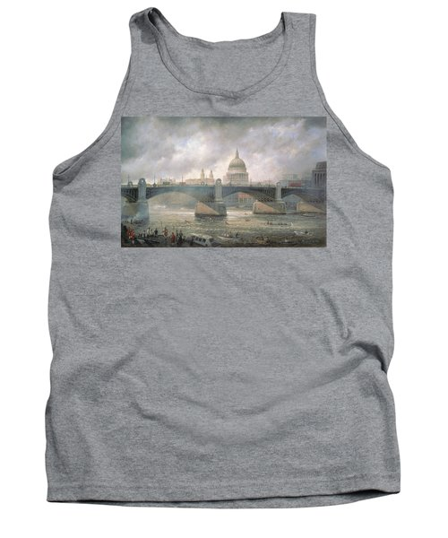 St. Paul's Cathedral From The Southwark Bank Tank Top