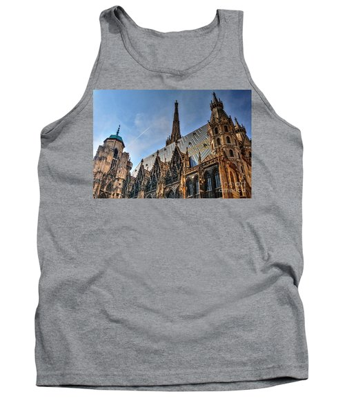 Tank Top featuring the photograph St. Stephen's Cathedral by Joe  Ng
