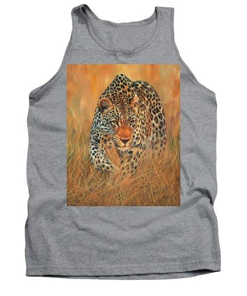Stalking Leopard Tank Top