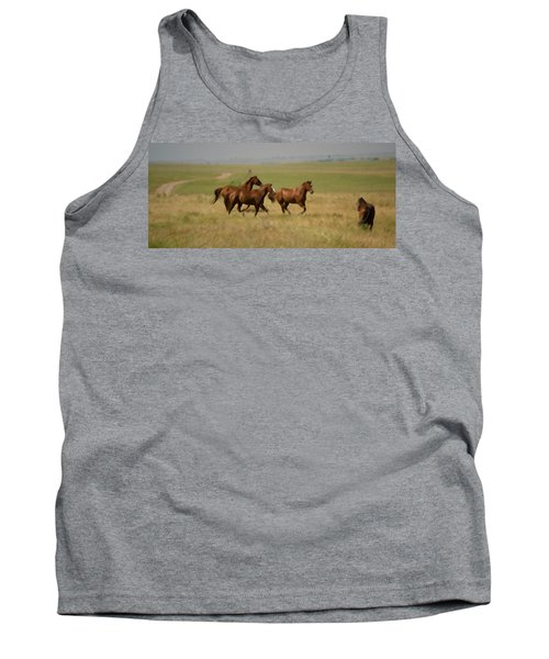 Tank Top featuring the photograph Stances by Rima Biswas