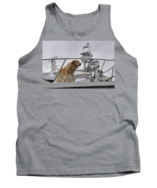 Standing Guard Tank Top by Cathy Mahnke