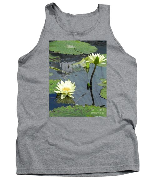 Tank Top featuring the photograph Standing Tall With Beauty by Chrisann Ellis