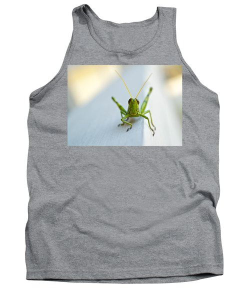 Staring At Me Tank Top by Shelby  Young