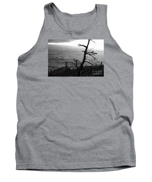 Tank Top featuring the photograph Stark Tree by Mary Carol Story