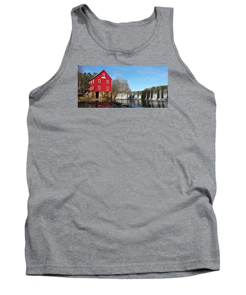 Starr's Mill In Senioa Georgia Tank Top by Donna Brown