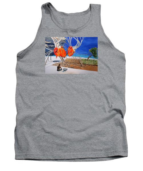State Of Emotion The Pulse Let It Work... Tank Top by Lazaro Hurtado
