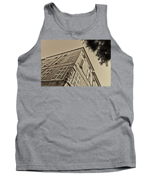 Statue In The Corner Tank Top