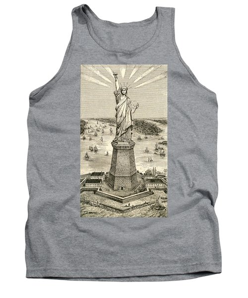 Statue Of Liberty, New York Tank Top