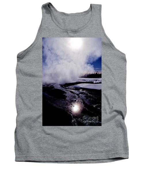 Tank Top featuring the photograph Steam by Sharon Elliott
