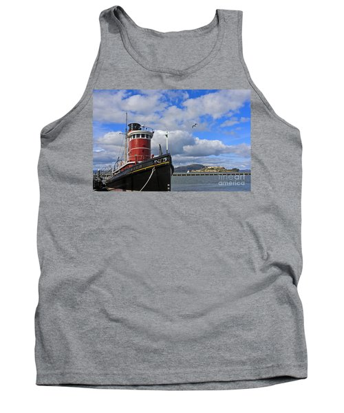 Tank Top featuring the photograph Steam Tug Hercules by Kate Brown
