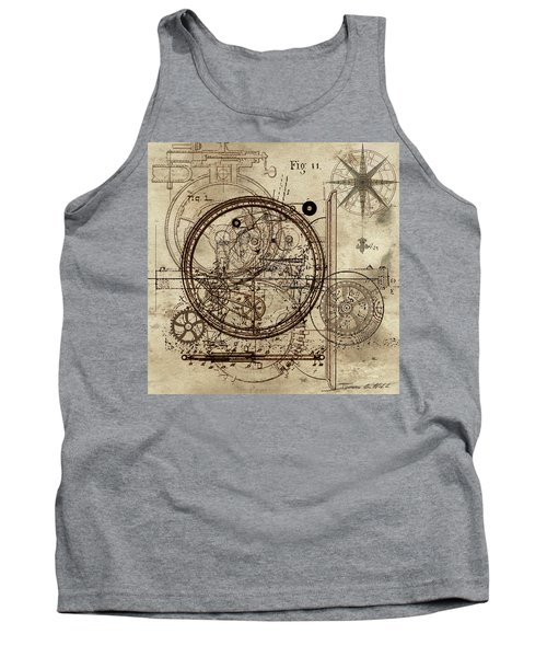 Steampunk Dream Series IIi Tank Top