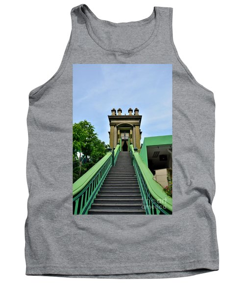 Steps To Muslim Mystic Shrine Singapore Tank Top by Imran Ahmed