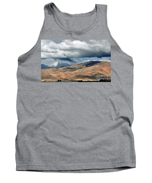 Storm Clouds Floating Above Mountains Tank Top