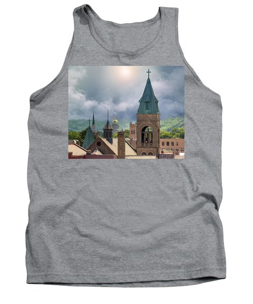 Storm Clouds In Charleston Wv Tank Top by Mary Almond