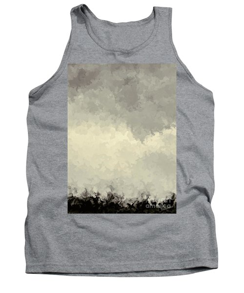 Storm Over A Cornfield Tank Top