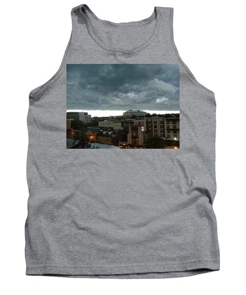 Storm Over West Chester Tank Top by Ed Sweeney