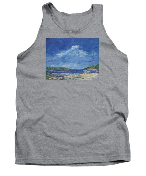 Stormy Day At Picnic Island Tank Top