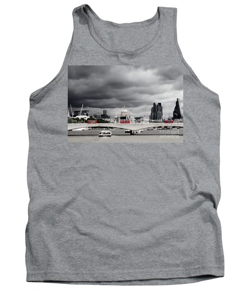 Stormy Skies Over London Tank Top