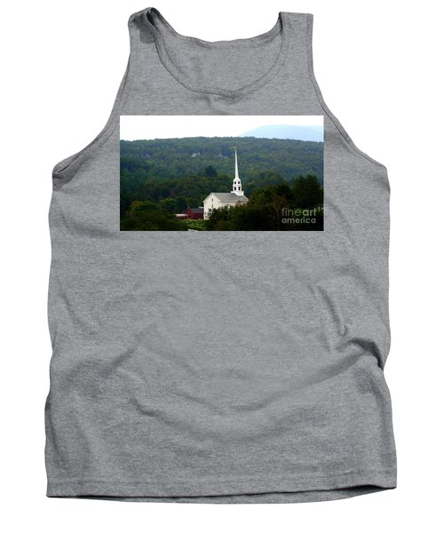 Stowe Community Church Tank Top by Patti Whitten