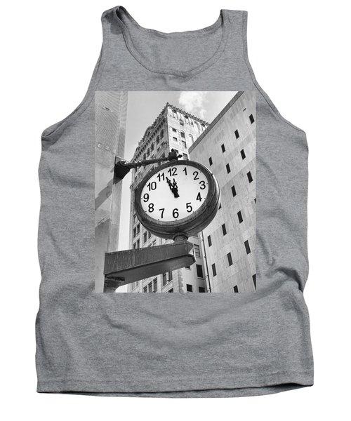 Street Clock Tank Top