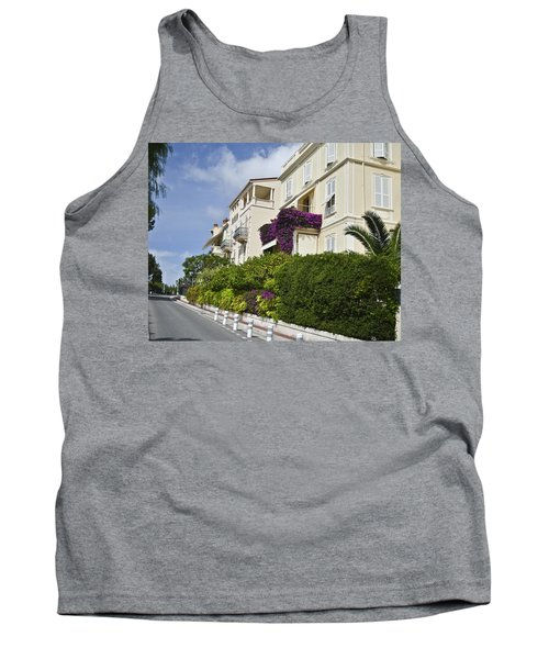 Tank Top featuring the photograph Street In Monaco by Allen Sheffield
