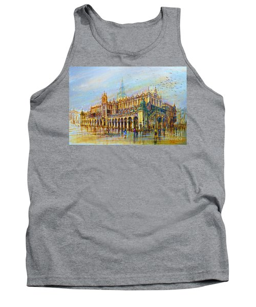 Sukiennice In Cracow Tank Top