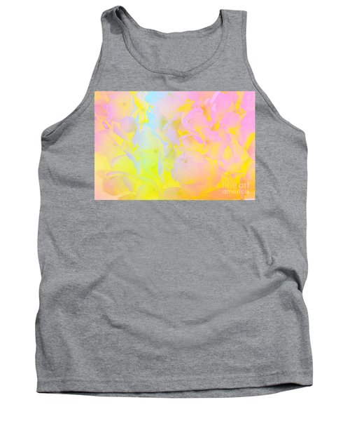 Tank Top featuring the photograph Summer Joy Abstract by Judy Palkimas