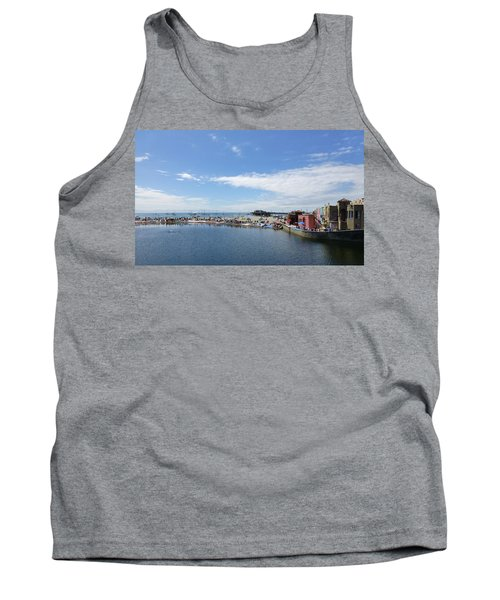 Summers End Capitola Beach Tank Top by Amelia Racca