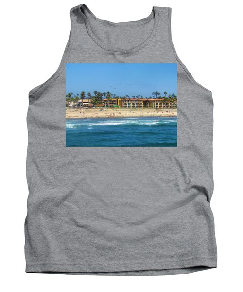 Tank Top featuring the photograph Summertime by Tammy Espino