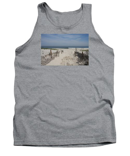 Sun And Sand Tank Top by Christiane Schulze Art And Photography