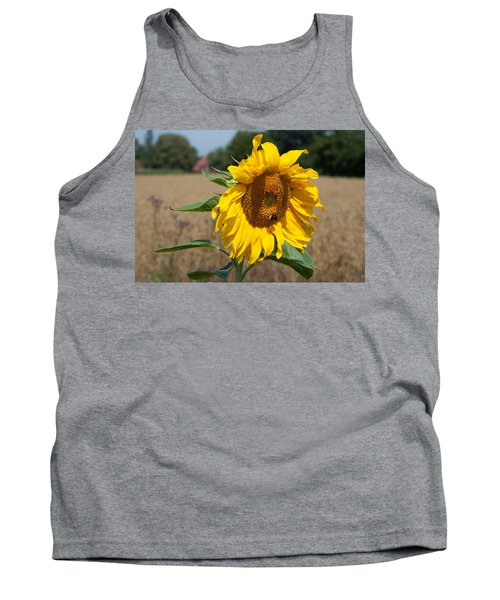 Sun Flower Fields Tank Top