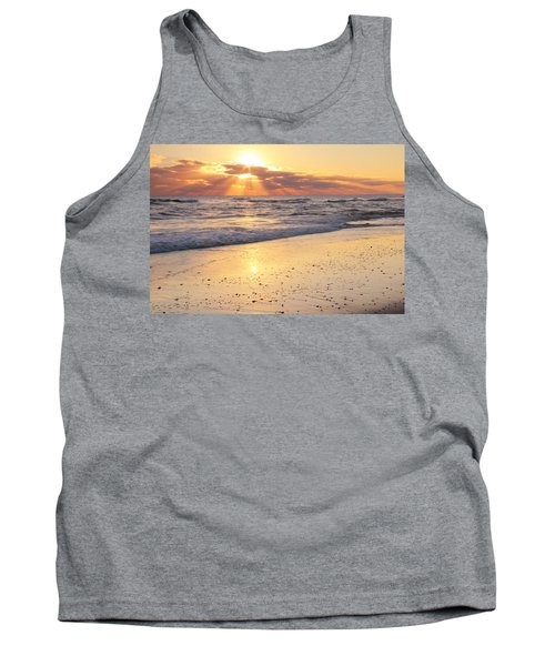 Sunbeams On The Beach Tank Top by Roupen  Baker