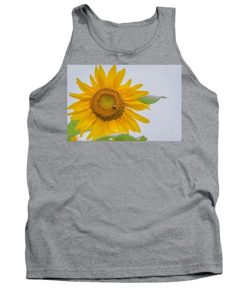 Sunflower And Bee Tank Top