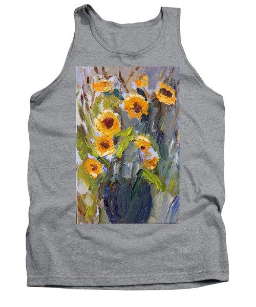 Sunflower Bouquet Tank Top
