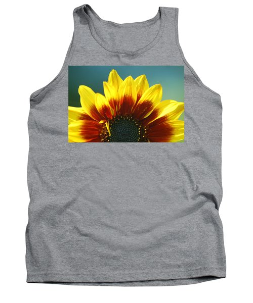 Tank Top featuring the photograph Sunflower by Tam Ryan