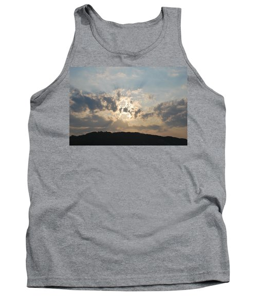 Tank Top featuring the photograph Sunrise 1 by George Katechis
