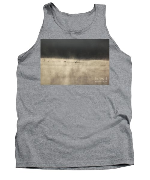 Sunrise Geese Tank Top by Melissa Petrey
