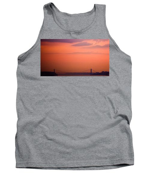 Tank Top featuring the photograph Sunrise In New York by Sara Frank